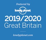 Featured by Lonely Planet 2019/2020 Great Britain